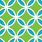 Kachel grün-blau
